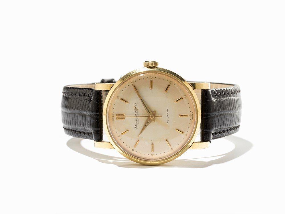 IWC Gold Wristwatch, Switzerland, Around 1955