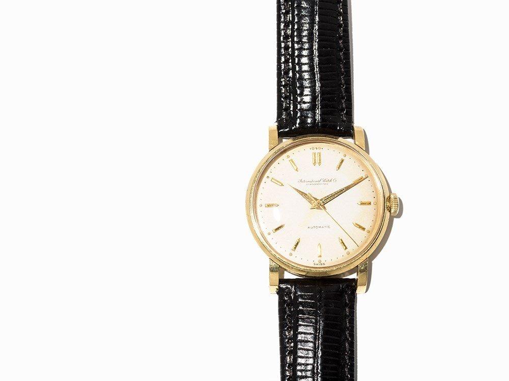 IWC Gold Wristwatch, Switzerland, Around 1955 - 2