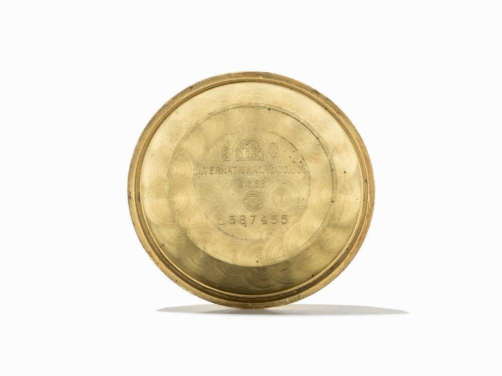 IWC Gold Wristwatch, Switzerland, Around 1955 - 5