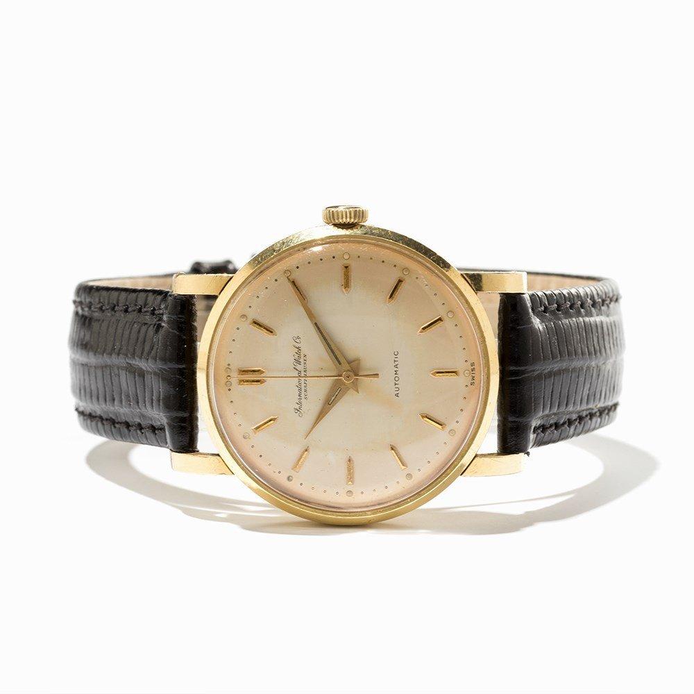 IWC Gold Wristwatch, Switzerland, Around 1955 - 9