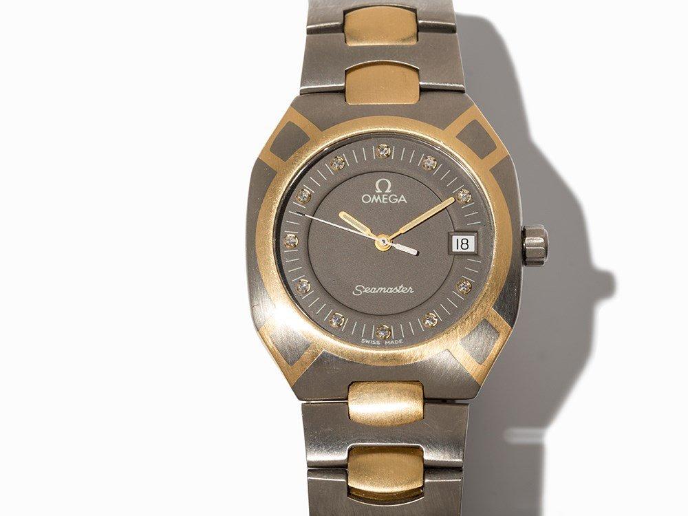 Omega Seamaster Wristwatch, Ref. 396.1021, Around 1975 - 2