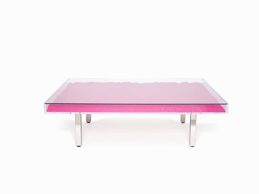Yves klein table rose france 1961 for Table yves klein