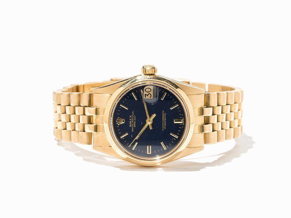 Rolex Datejust Wristwatch, Ref. 6824, Switzerland,