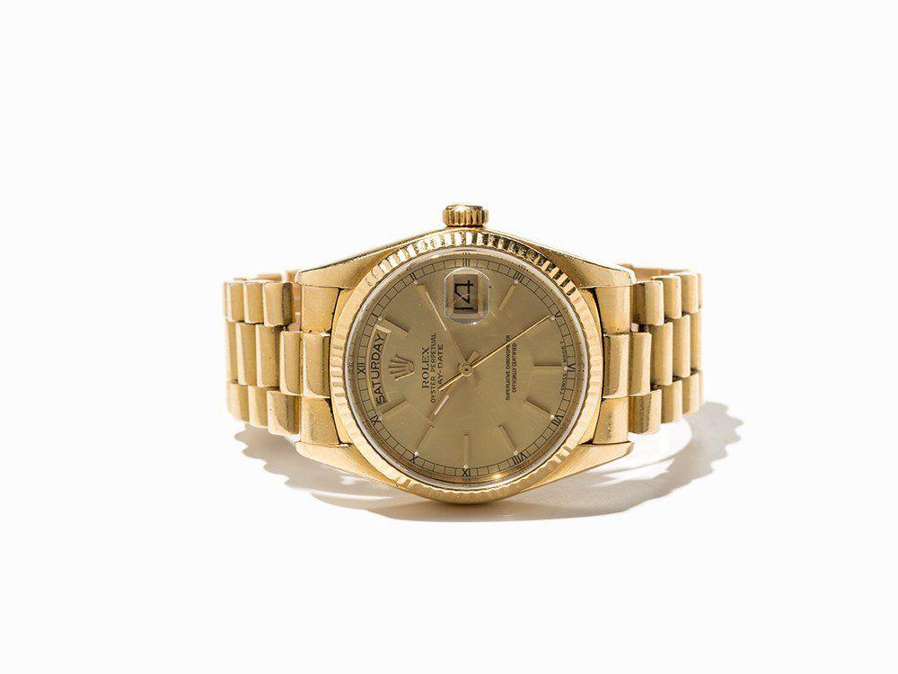 Rolex Day Date Wristwatch, Ref. 18038, Switzerland,