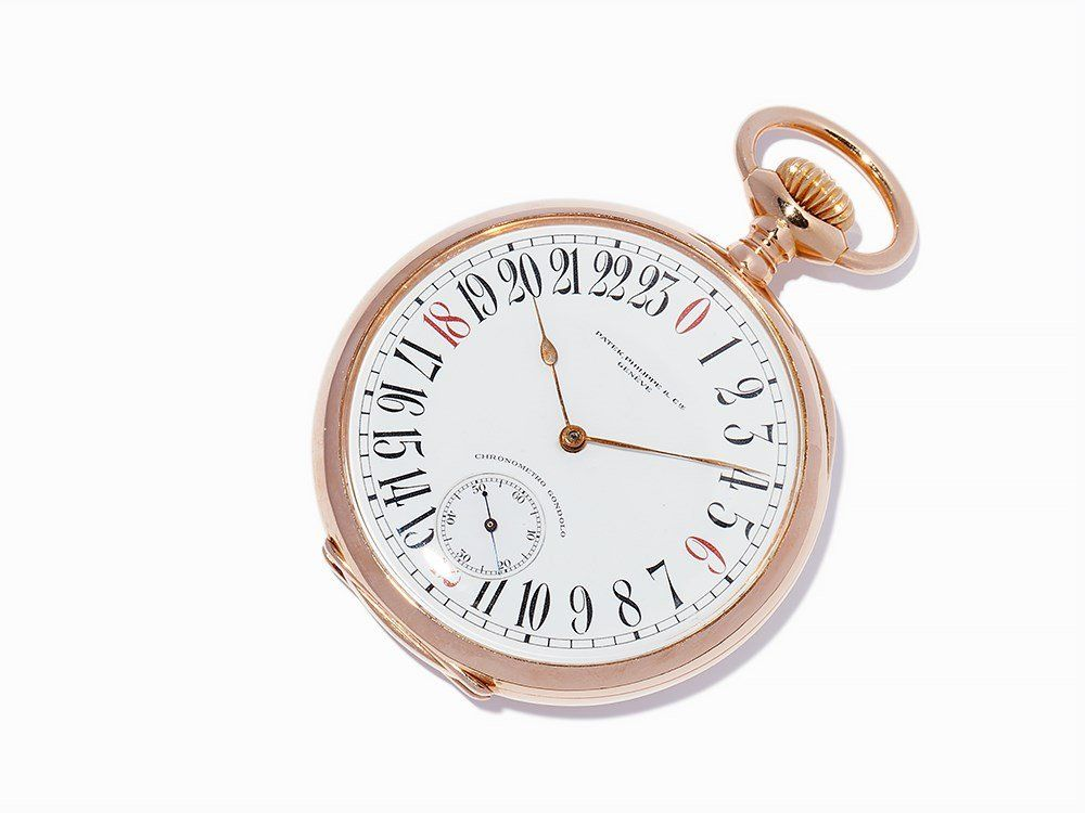 Patek Philippe Gondolo 24-h Pocket Watch, Switzerland,