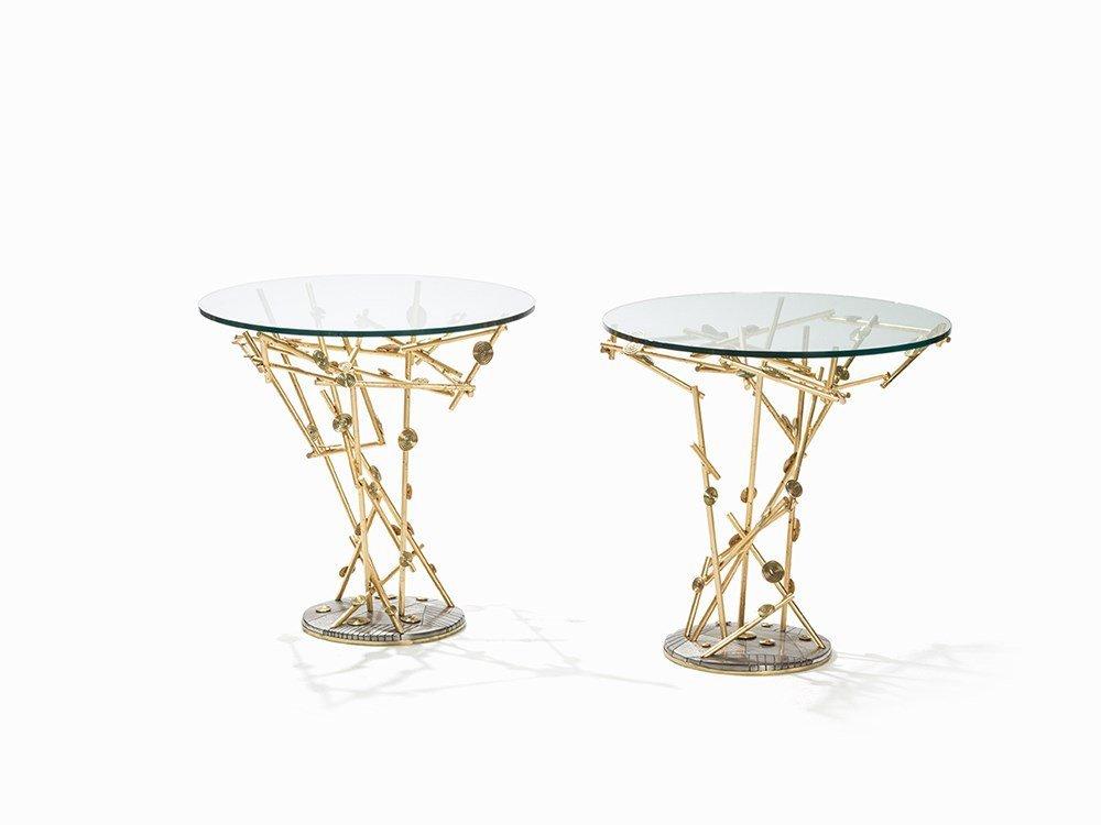 Alain Chervet (born 1944), 2 Table-Sculptures