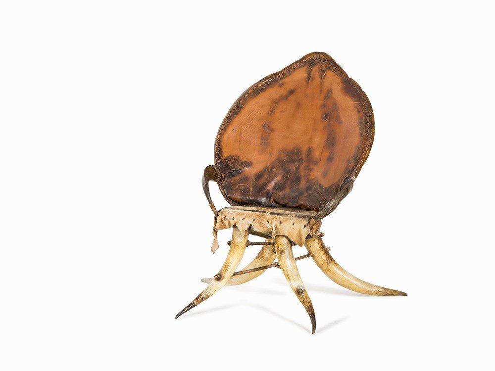 Michel Haillard, Armchair with Turtle Shell, 1995