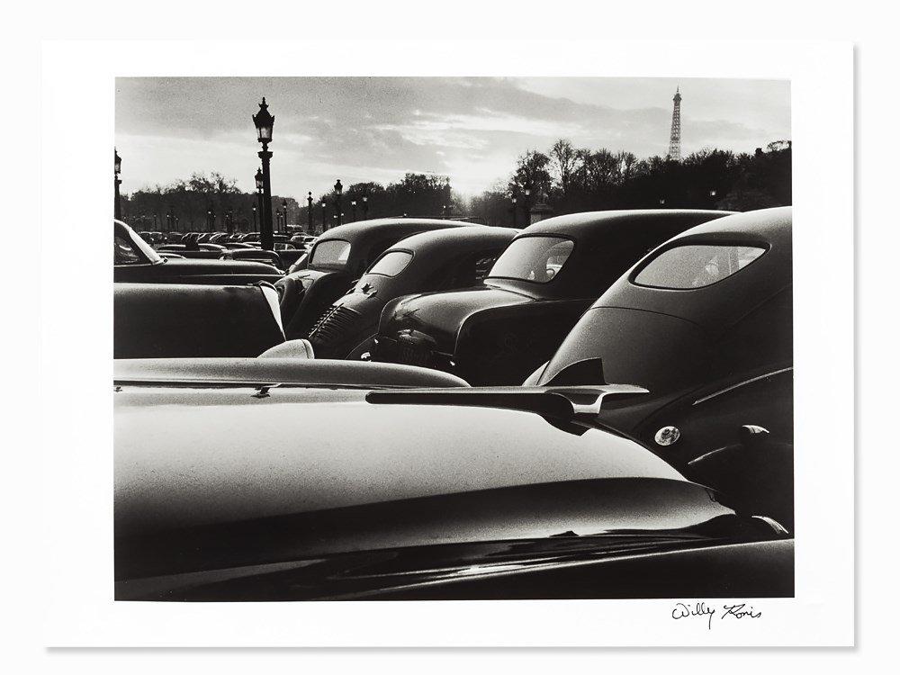 Willy Ronis (1910-2009), Place de la Concorde, 1952