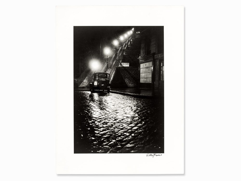 Willy Ronis (1910-2009), Rue Muller, Gelatin Silver