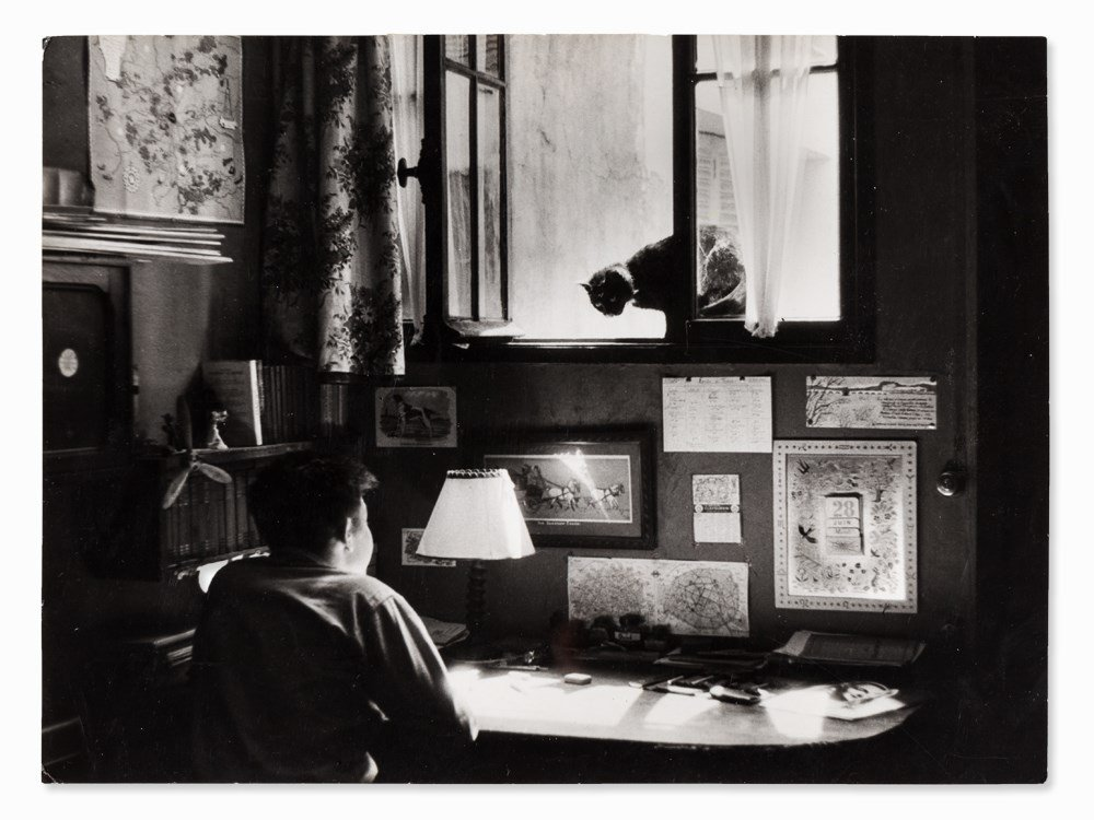 Willy Ronis (1910-2009), Vincent, Gelatin Silver Print,