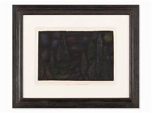 Paul Klee (1879-1940), Nocturnal Landscape, Colored