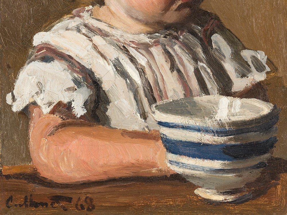 Claude Monet, L'Enfant à la tasse, portrait de Jean - 6