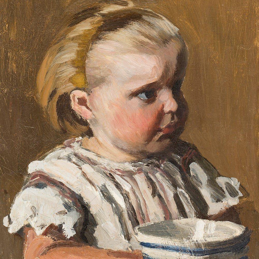 Claude Monet, L'Enfant à la tasse, portrait de Jean - 8