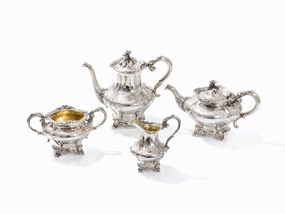 Charles Reily & George Storer, Coffee & Tea Set,