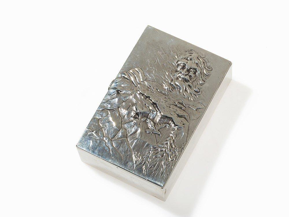 Russian Silver Box, ex Romanow, E. Samoshin, Moscow,
