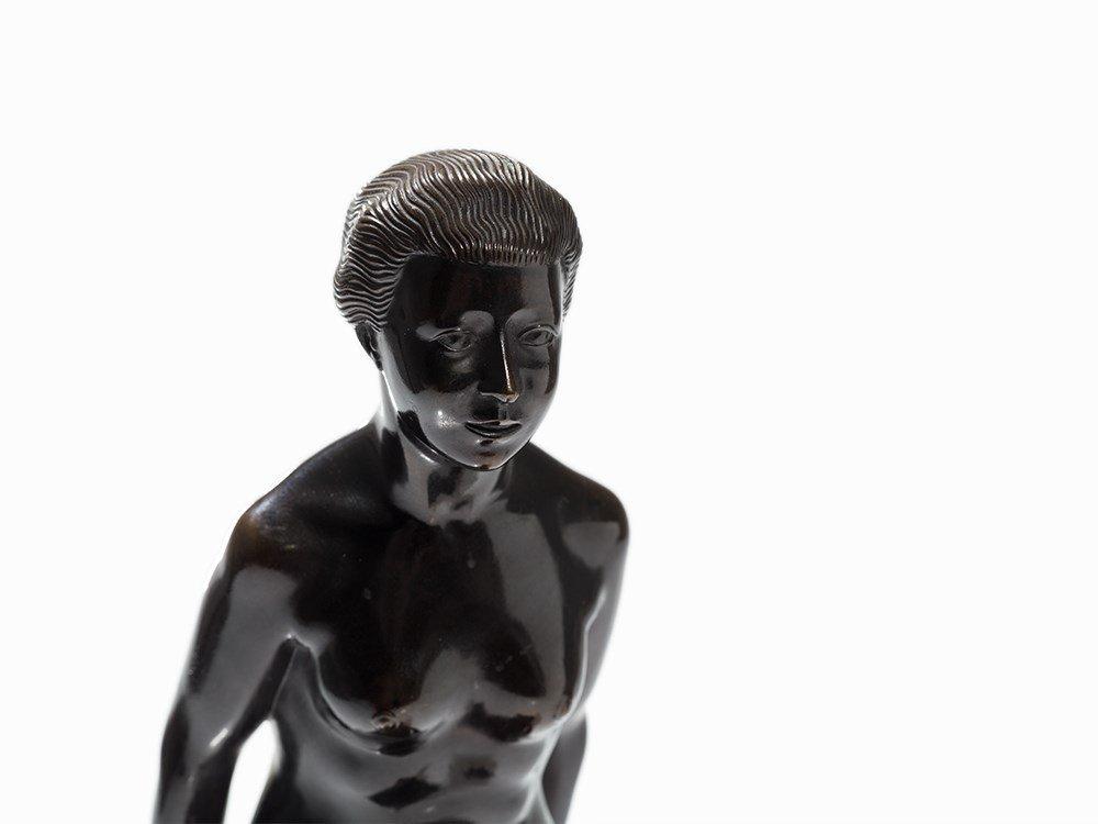 Turi Weinmann (1883-1950), Female Nude, Bronze, 1919 - 7