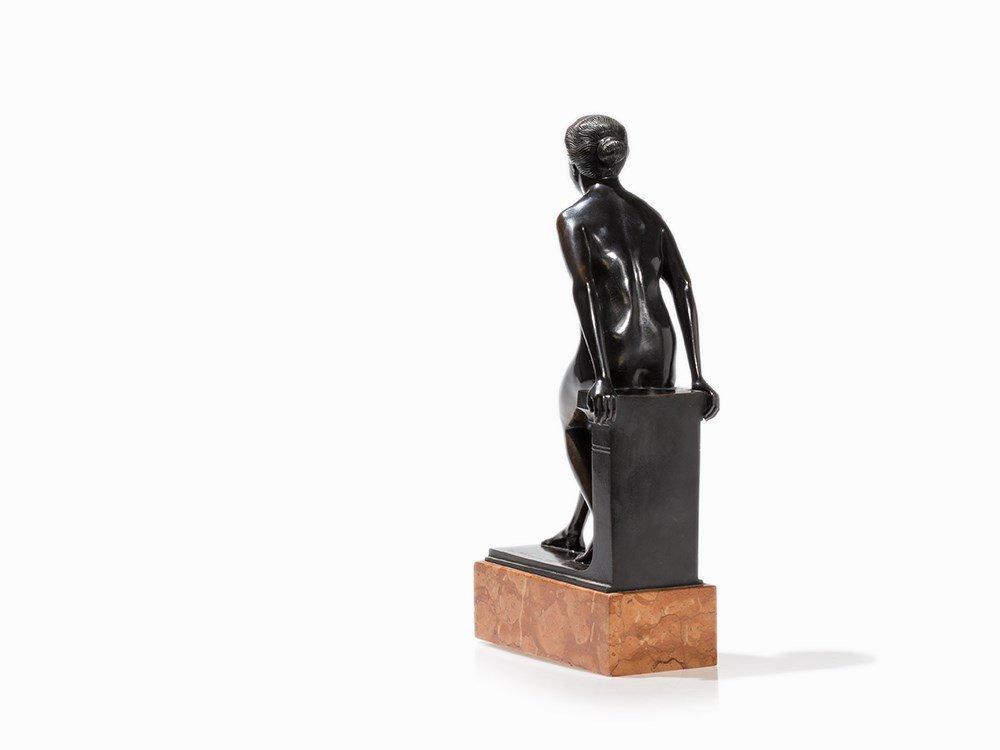 Turi Weinmann (1883-1950), Female Nude, Bronze, 1919 - 8