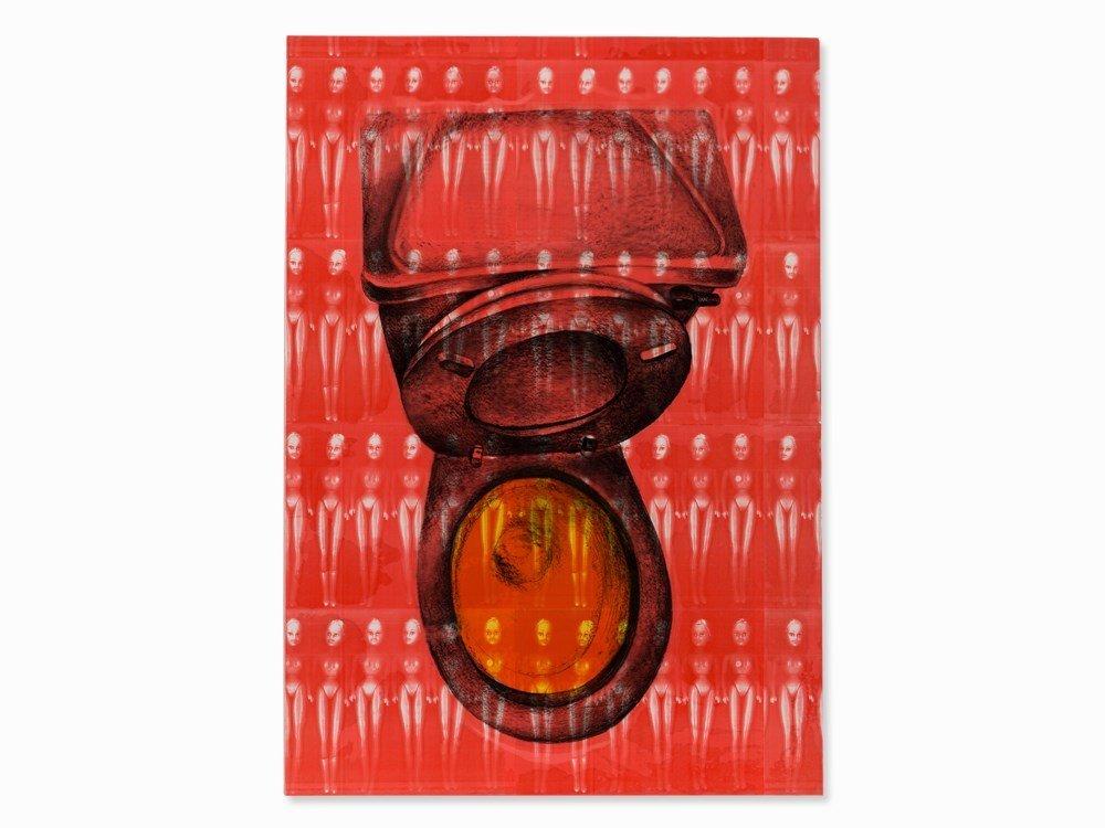 Lisa Brice (b. 1968), Plastic Makes Perfect (IV), 1994