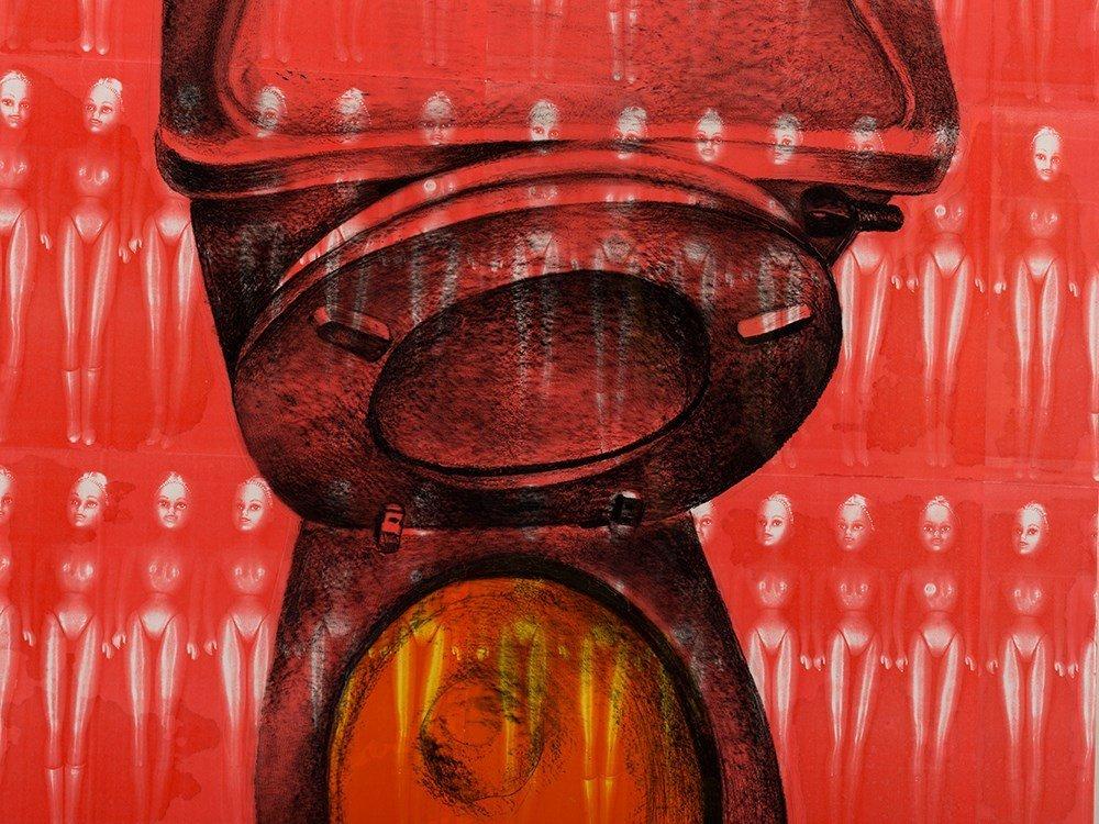 Lisa Brice (b. 1968), Plastic Makes Perfect (IV), 1994 - 2
