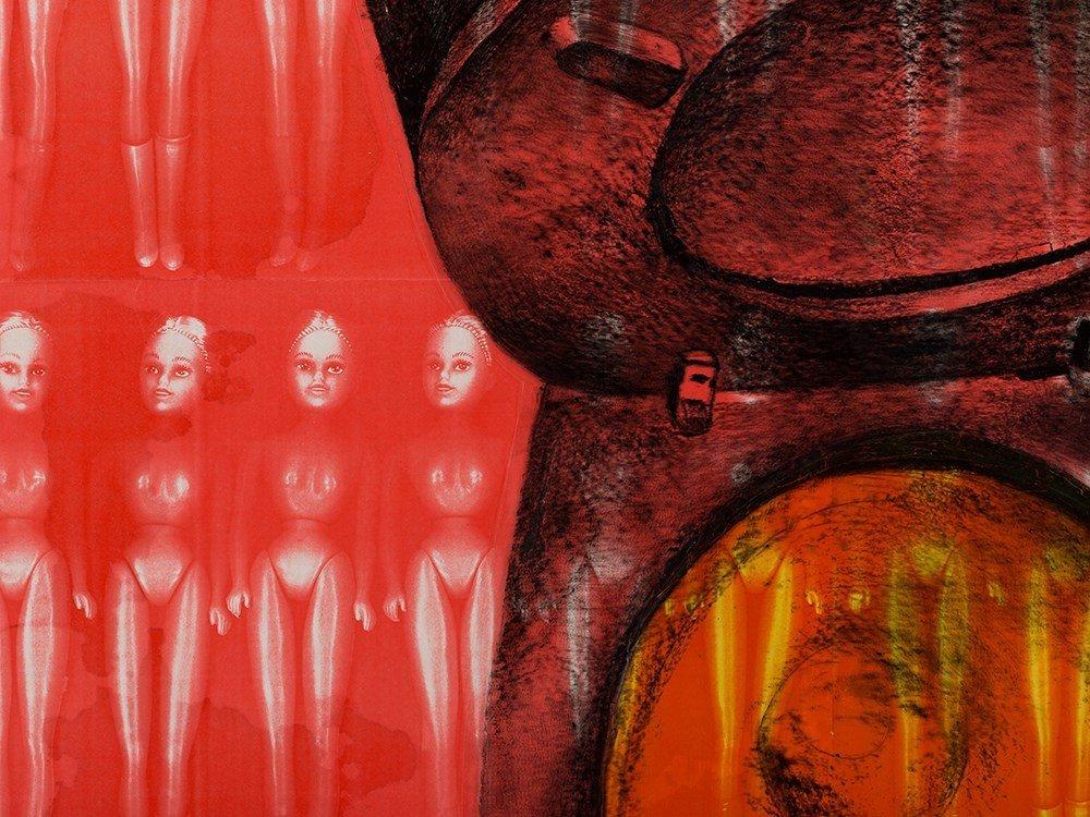 Lisa Brice (b. 1968), Plastic Makes Perfect (IV), 1994 - 6