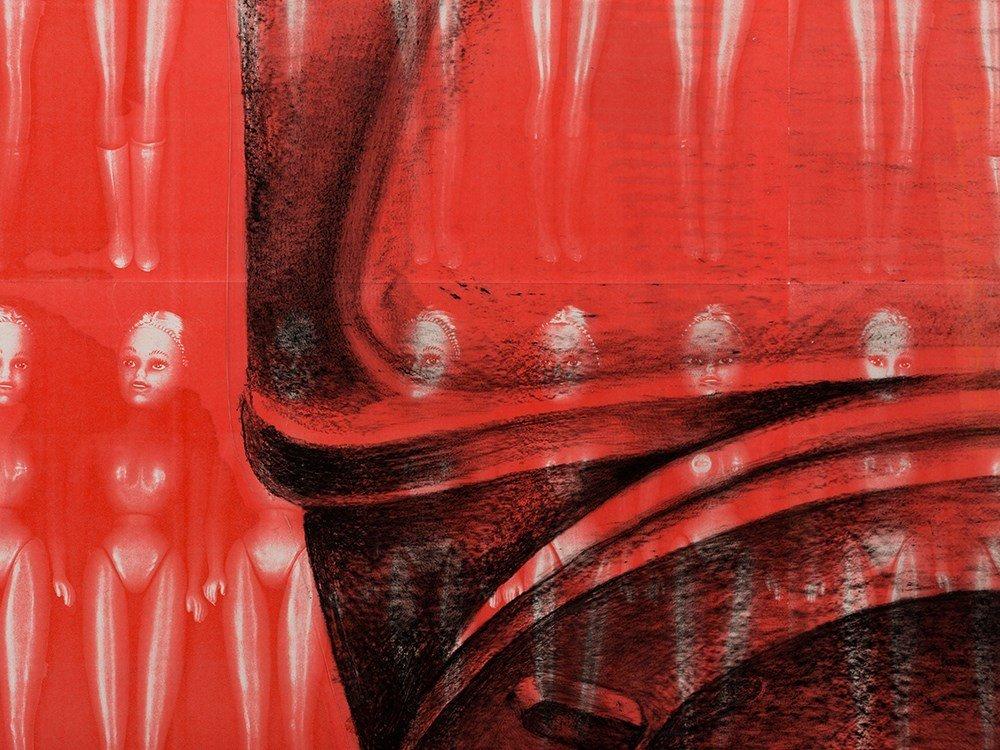 Lisa Brice (b. 1968), Plastic Makes Perfect (IV), 1994 - 8