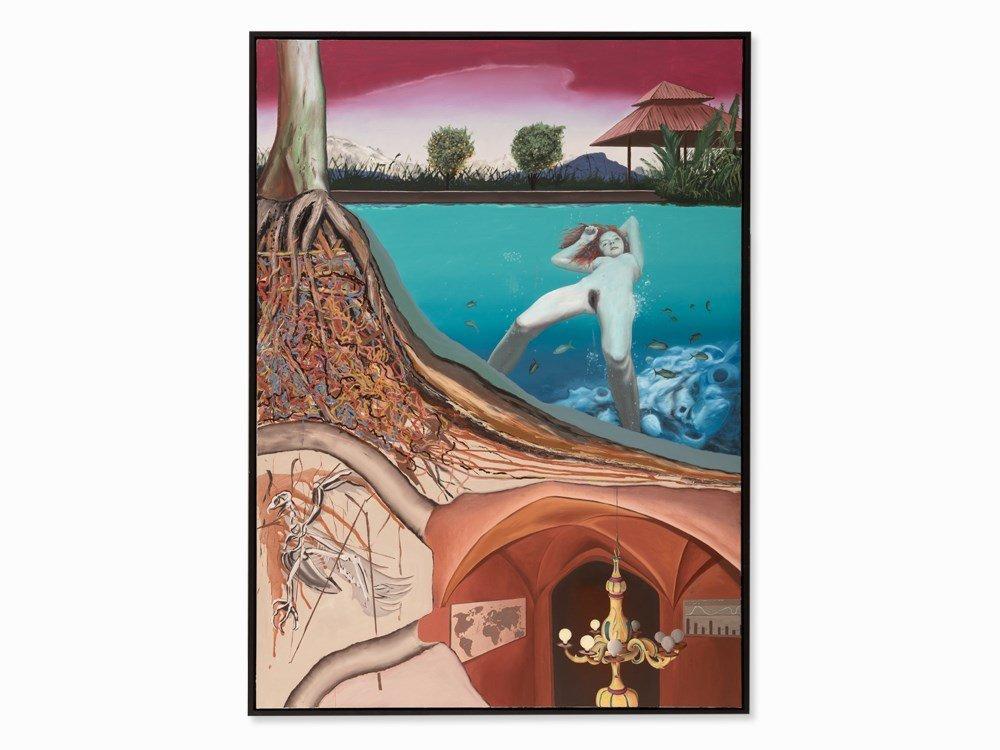 Vincent Wenzel (born 1979), System I, Oil, 2007
