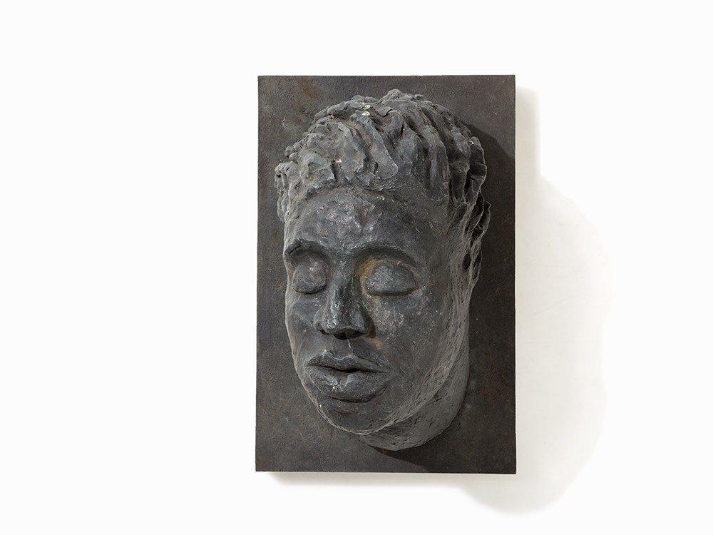 Dieter Hacker (b. 1942), Die Brücke, Bronze, 1985