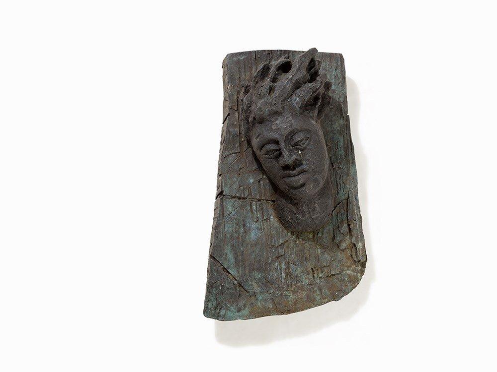 Dieter Hacker (born 1942), Windsbraut, Bronze, 1985