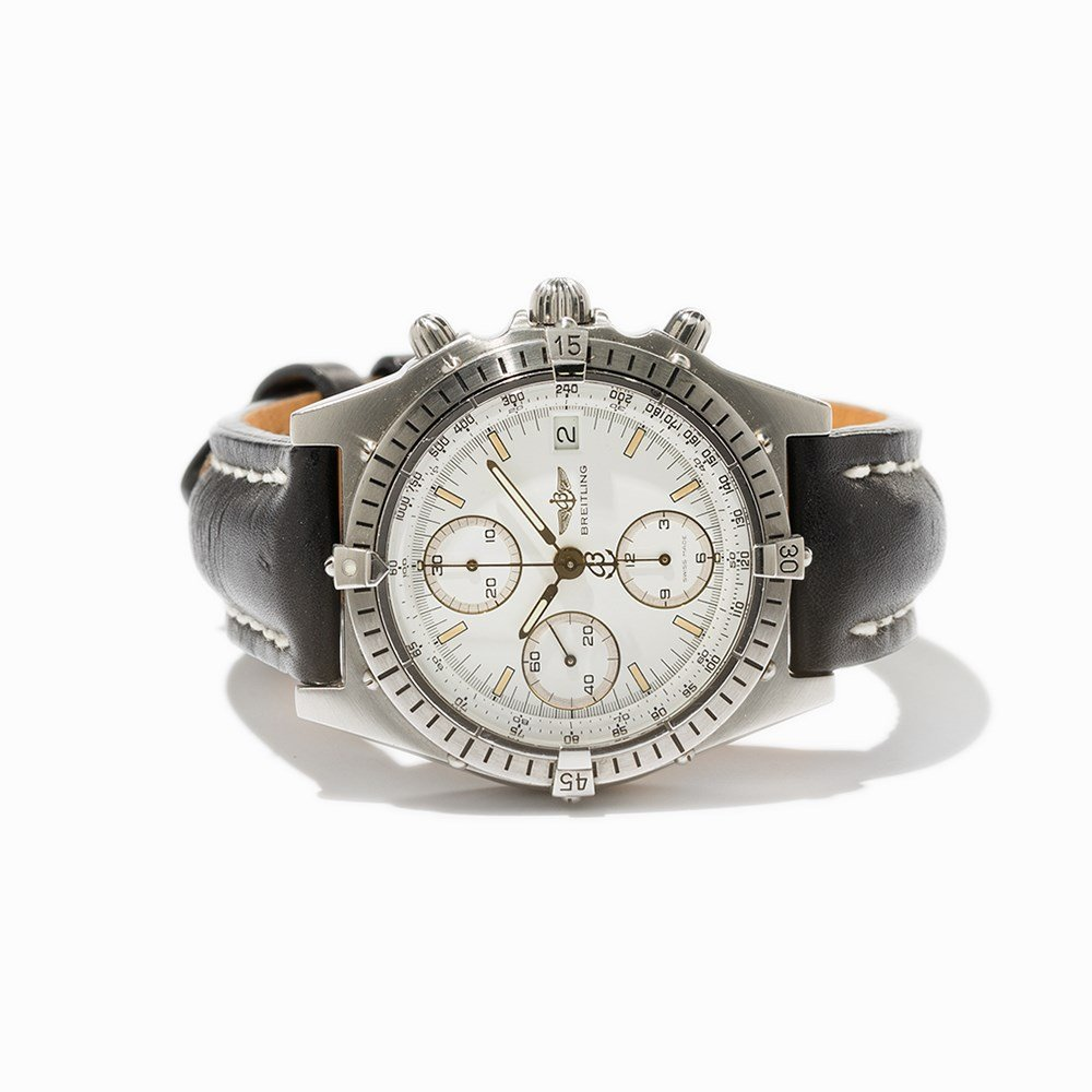 Breitling Chronomat Chronograph, Ref. B13047, C. 1990 - 10