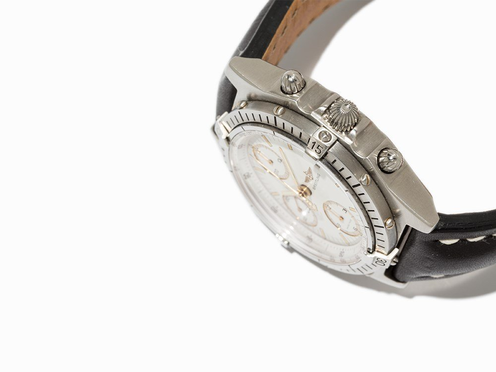 Breitling Chronomat Chronograph, Ref. B13047, C. 1990 - 3