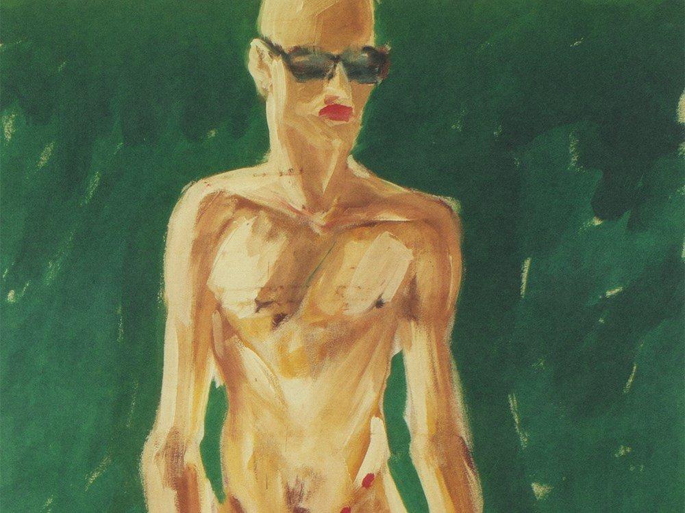 Salomé, Screen Print 'Red Dots' (Artist Proof) 1995