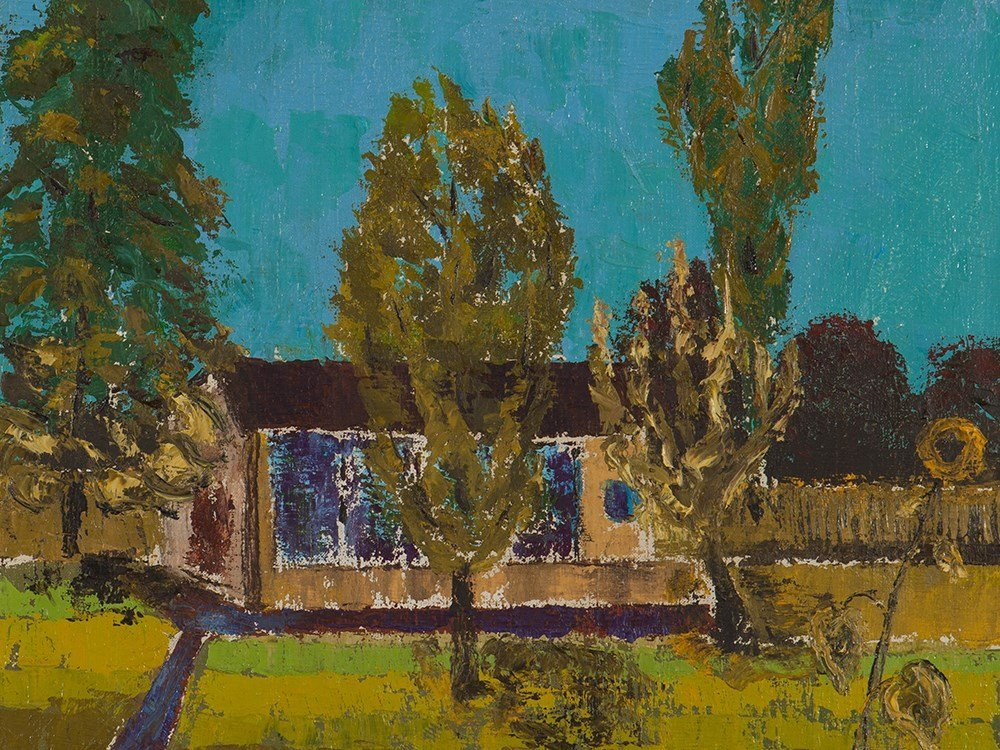 Georg Rendl, 'House with Trees in a Garden', Austria,