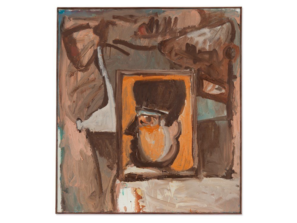 """Abstract Painting """"Don Giovanni by Arnim Tlke, 1989"""
