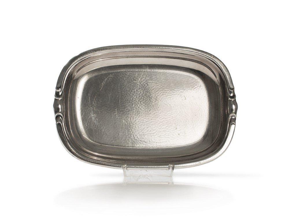 Sigg Art Deco Bowl, Silver-Plated, Switzerland, around