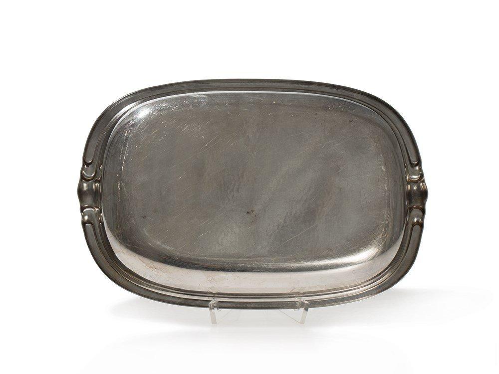 Sigg Art Deco Bowl, Silver-Plated, Switzerland, around - 5