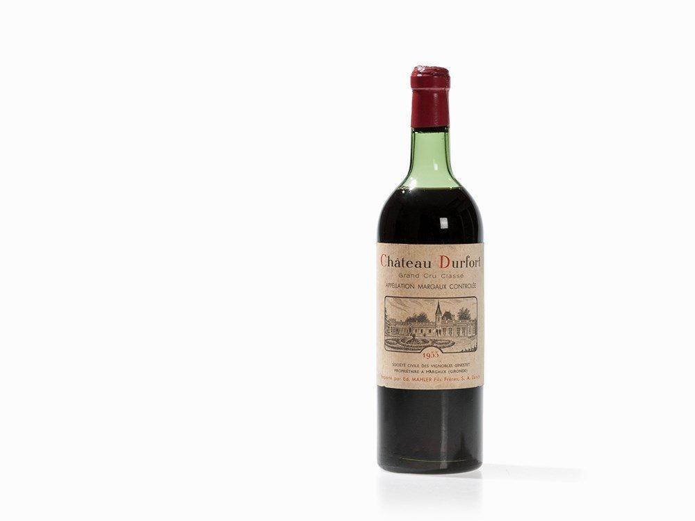 1 Bottle 1955 Château Durfort, Margaux
