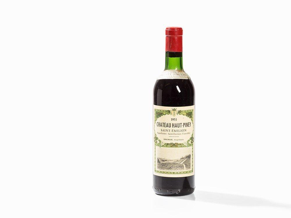 1 Bottle 1953 Château Haut-Piney, Saint-Émilion