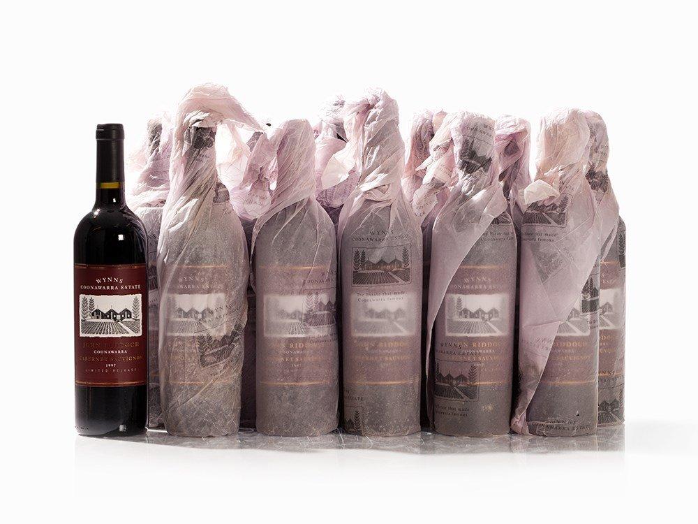 12 Bottles 1997 Wynns John Riddoch Cabernet Sauvignon