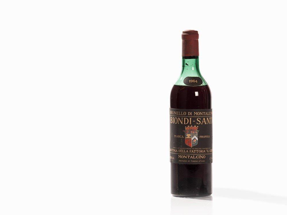 1 Bottle 1964 Biondi-Santi Brunello di Montalcino,