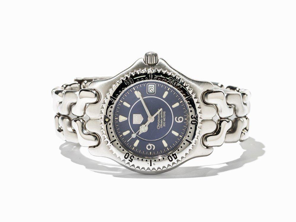 TAG Heuer Chronometer Wristwatch, Ref. WG 5114-PO, C.