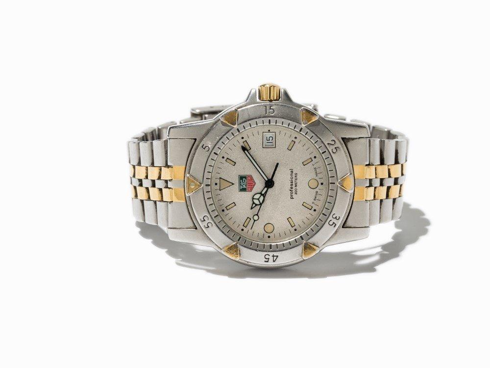 TAG Heuer Professional Wristwatch, Switzerland, C. 1995