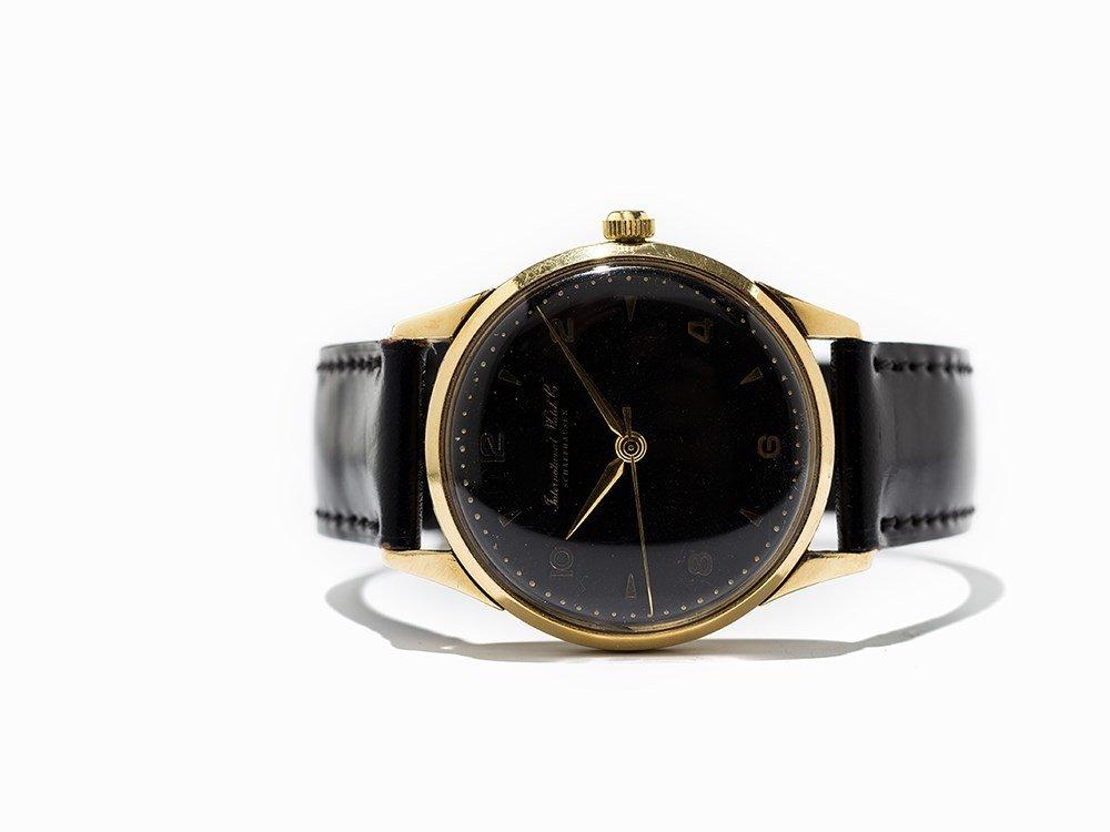 IWC Black Dial Vintage Wristwatch, Switzerland, C. 1951