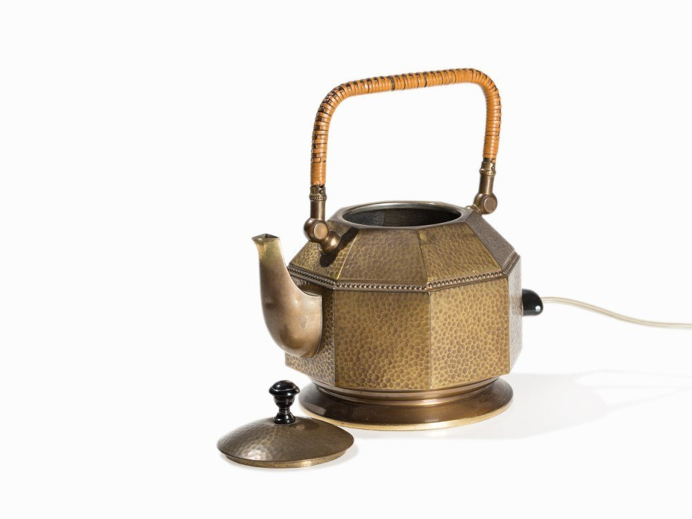 Peter Behrens, Electric Tea Kettle, AEG, Germany, 1909 - 3