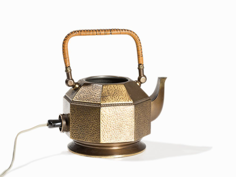 Peter Behrens, Electric Tea Kettle, AEG, Germany, 1909 - 6