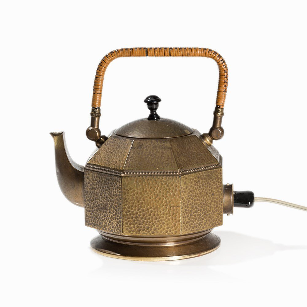 Peter Behrens, Electric Tea Kettle, AEG, Germany, 1909 - 9