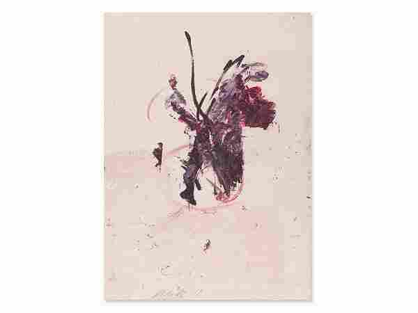 Josef Mikl (1929-2008), Blumenstrauß mit Rosen,