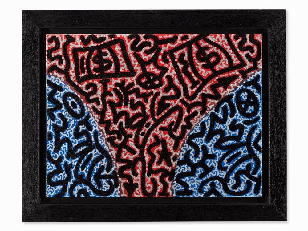 L.A. II (Angel Ortiz), �Away�, Acrylic on Canvas, USA,