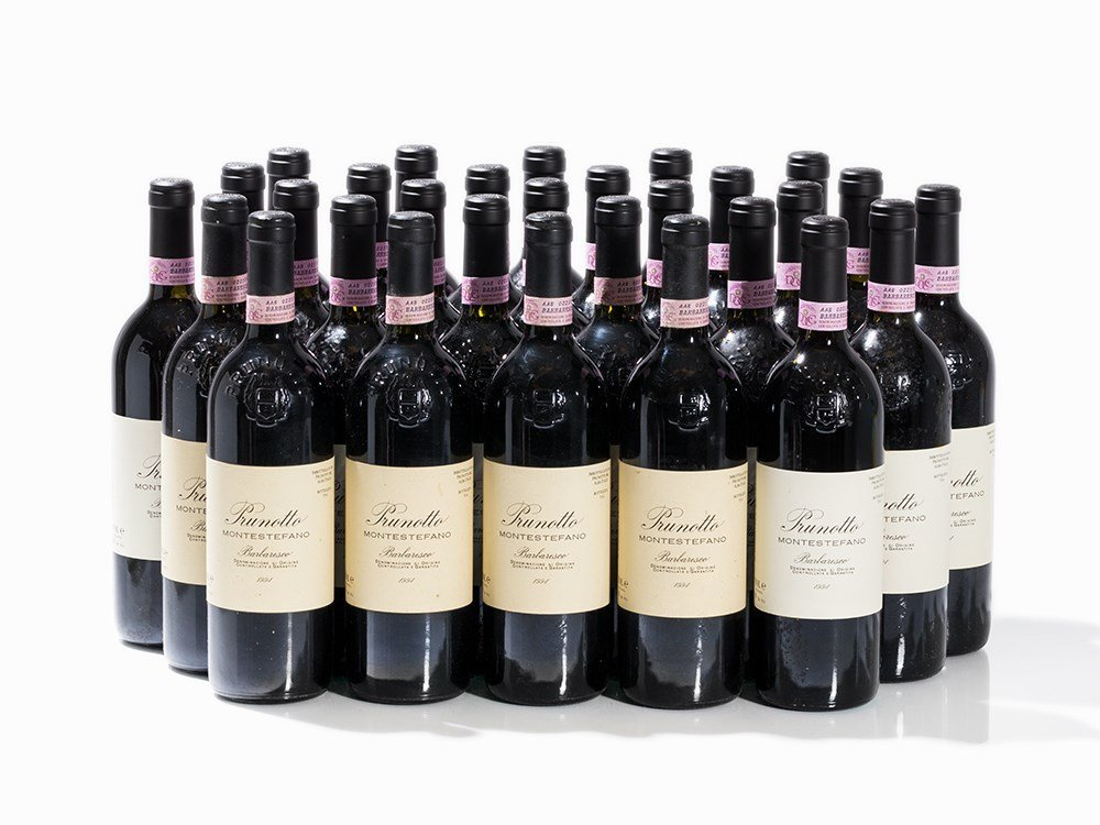 29 Bottles 1994 Prunotto Barbaresco Montestefano,