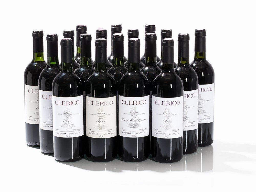 18 Bottles 1992/1993/1994 Domenico Clerico Barolo
