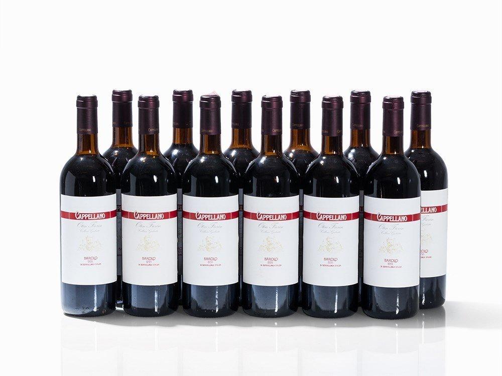 12 Bottles 1991 Cappellano Barolo Otin Fiorin Collina